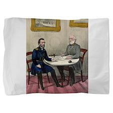 Surrender of Genl. Lee, at Appomattox - 1865 Pillo