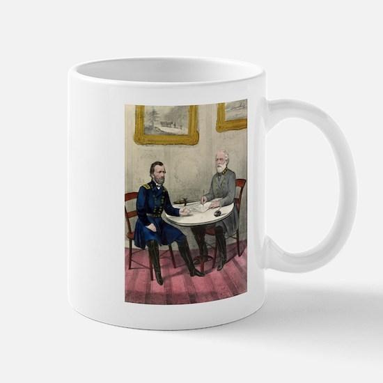 Surrender of Genl. Lee, at Appomattox - 1865 Mug