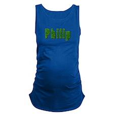 Philip Grass Maternity Tank Top