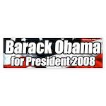 Barack Obama 2008 President Bumpersticker