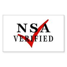 NSA Verified Decal