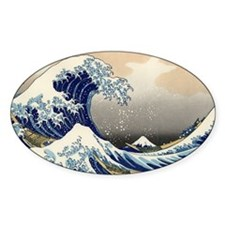 The Great Wave of Kanagawa Decal