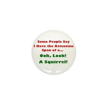 Attention Span Mini Button