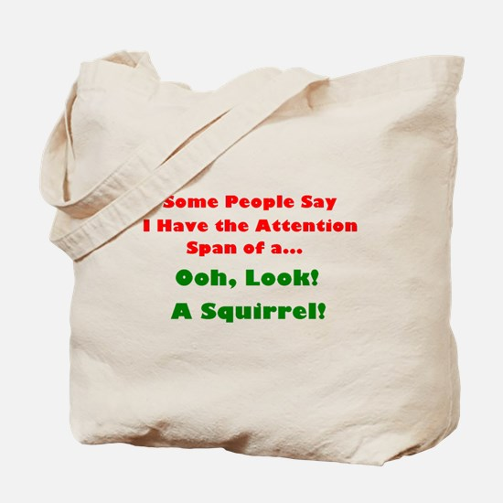 Attention Span Tote Bag
