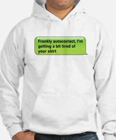 Frankly Auto-Correct Jumper Hoody