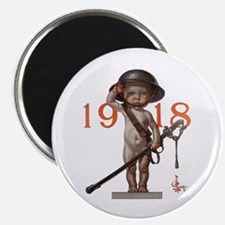 Baby New Year: 1918 Magnet