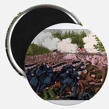 The Battle of Fair Oaks, Va - 1862 Magnet