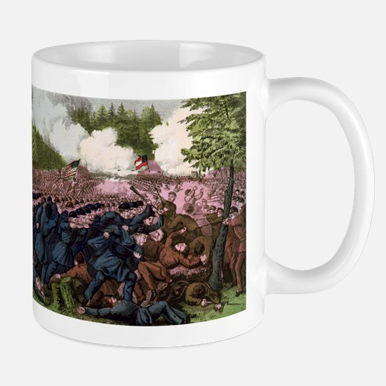 The Battle of Fair Oaks, Va - 1862 Mug