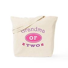 Grandma Of Two Tote Bag