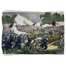 The battle of Gettysburg, Pa - 1863 Pillow Sham
