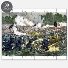 The battle of Gettysburg, Pa - 1863 Puzzle