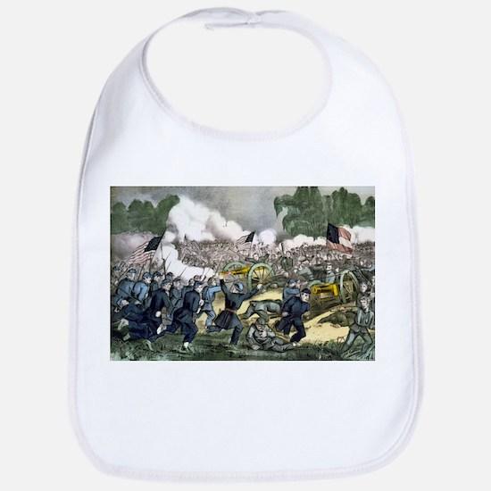 The battle of Gettysburg, Pa - 1863 Cotton Baby Bi