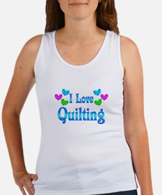 I Love Quilting Women's Tank Top