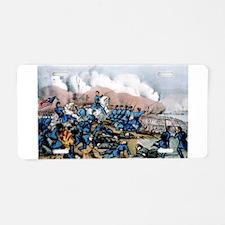 The battle of Newbern, NC - 1862 Aluminum License