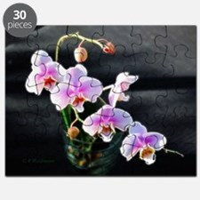Pink Orchids Puzzle