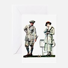Golf Couple Greeting Cards (Pk of 10)
