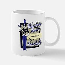Custom Marching Band Geek(Blue) Mug