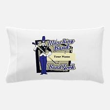 Custom Marching Band Geek(Blue) Pillow Case
