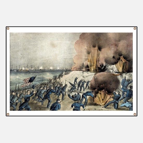 The bombardment and capture of Fort Fisher, N.C. -
