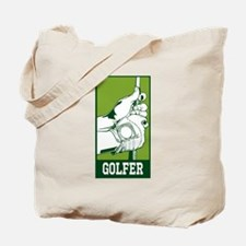 Personalized Golfer Tote Bag