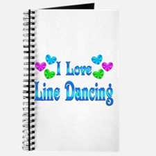 I Love Line Dancing Journal