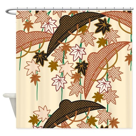 Decorative decoration oriental shower curtain by for Decoration orientale