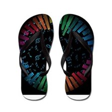 Decorative - Decoration - Music Flip Flops