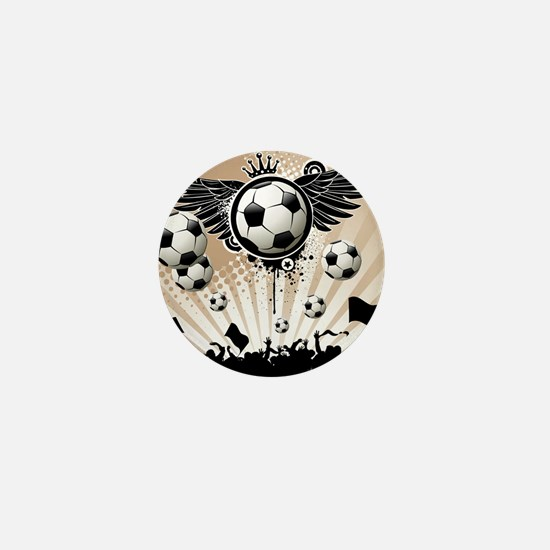 Decorative - Soccer - Football Mini Button