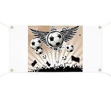 Decorative - Soccer - Football Banner