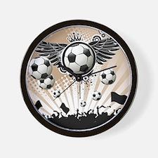 Decorative - Soccer - Football Wall Clock