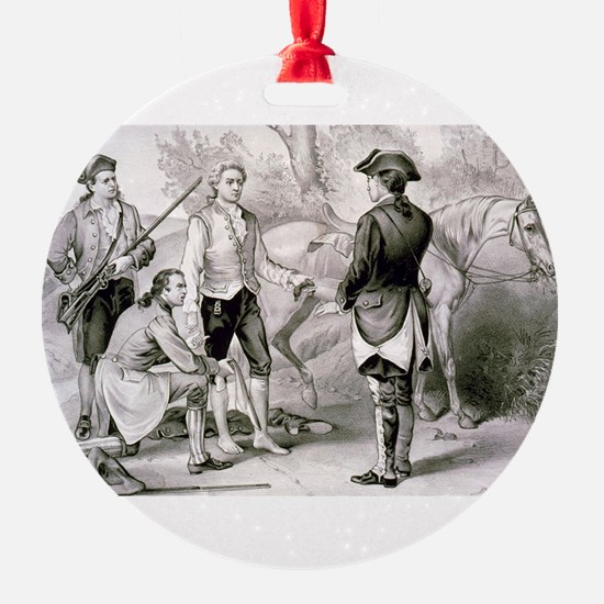 The capture of Andre - 1876 Ornament