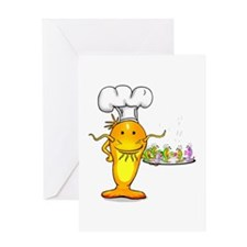 Catfish Chef Greeting Card