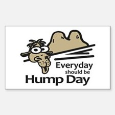 Everyday Should Be Hump Day Decal