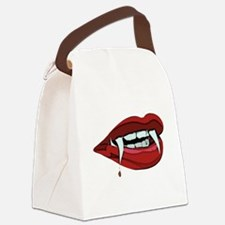 Vampire Canvas Lunch Bag