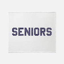 Seniors 77 Throw Blanket