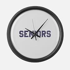 Seniors 77 Large Wall Clock