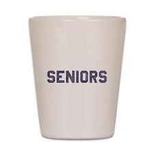 Seniors 77 Shot Glass