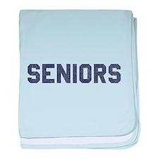 Seniors 77 baby blanket