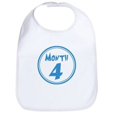 Baby - Month 4 - Boy Bib