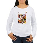 Football Season #1 Women's Long Sleeve T-Shirt