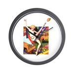 Football Season #1 Wall Clock