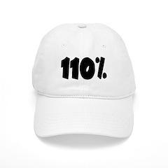 110% light Baseball Baseball Cap
