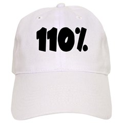 110% light Baseball Baseball Cap