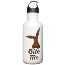 Bite Me Easter Chocolate Bunny Water Bottle