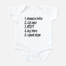 Repeat Steps Infant Bodysuit