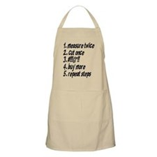 Repeat Steps Apron