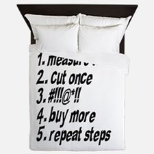 Repeat Steps Queen Duvet