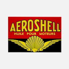 Aeroshell - Huile Pour Moteurs Rectangle Magnet