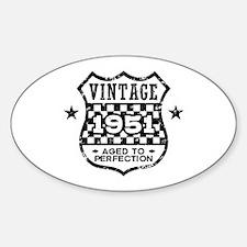 Vintage 1951 Decal