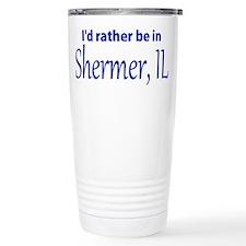 Shermer, IL John Hughes-dom Travel Mug